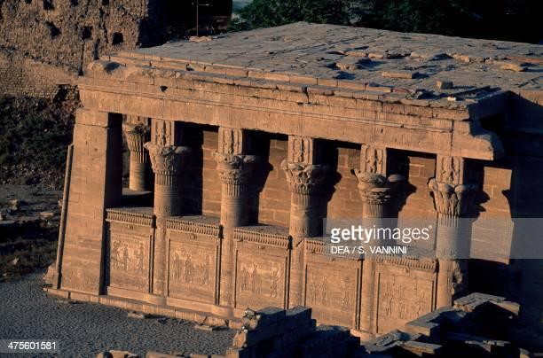 Roman mammisi Temple of Hathor Dendera Egypt Egyptian civilisation Aswan Nubian Museum
