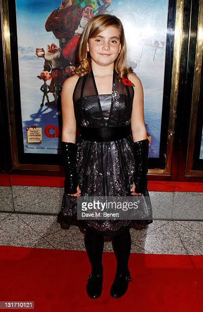 Roman Marquez attends the UK Premiere of Arthur Christmas at the Empire Leicester Square on November 6 2011 in LondonEngland