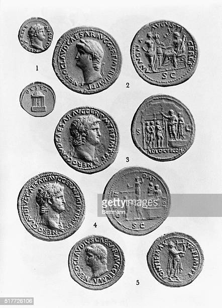 Roman money at the time of Nero Undated photograph BPA2# 414
