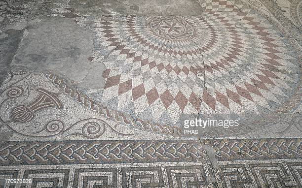 Roman mosaic House of the Amphitheater 3rd century Merida Spain
