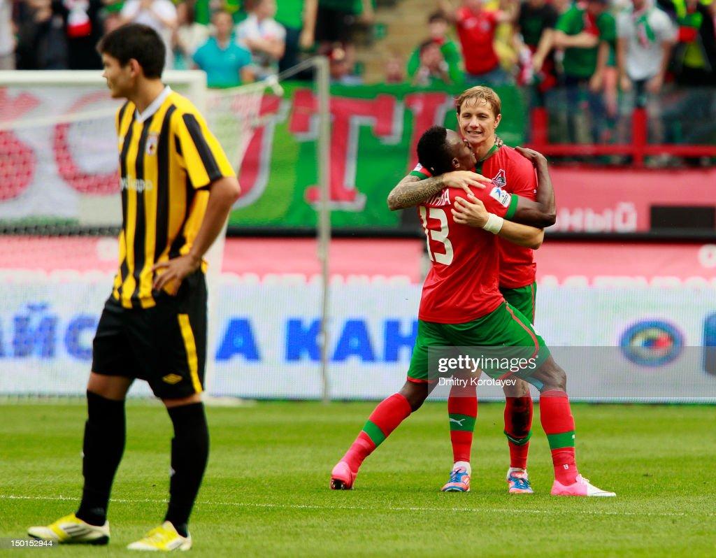 Lokomotiv Moskva v FC Alania Vladikavkaz - Russian Premier League