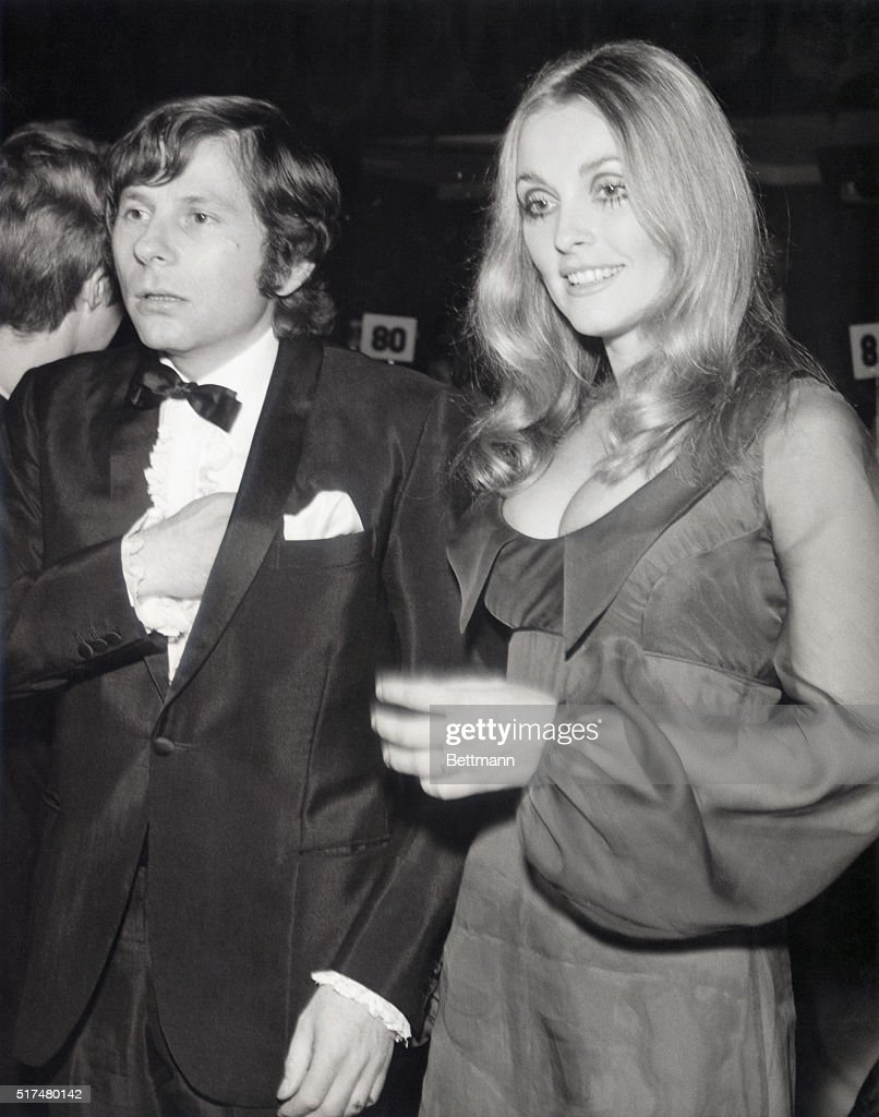 Roman Polanski and Sharon Tate look more like they are just