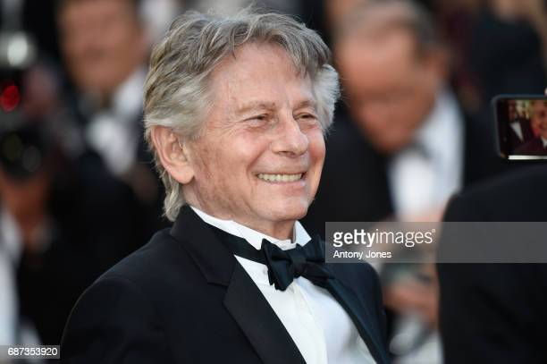 Roman Polanski attends the 70th Anniversary of the 70th annual Cannes Film Festival at Palais des Festivals on May 23 2017 in Cannes France