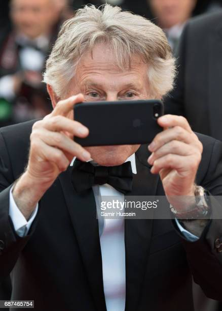Roman Polanski attends the 70th Anniversary screening during the 70th annual Cannes Film Festival at Palais des Festivals on May 23 2017 in Cannes...