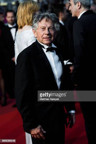 Roman Polanski attends the 'Based On A True Story' screening during the 70th annual Cannes Film Festival at Palais des Festivals on May 27 2017 in...