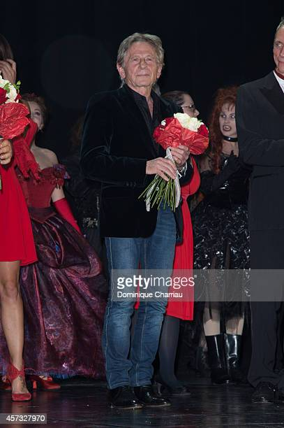 Roman Polanski attends the 'Le Bal Des Vampires' Premiere at Theatre Mogador on October 16 2014 in Paris France