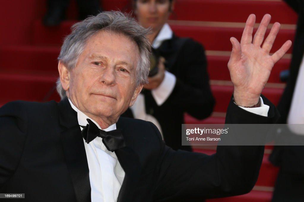 Roman Polanski attends the Premiere of 'La Venus A La Fourrure' at The 66th Annual Cannes Film Festival on May 25, 2013 in Cannes, France.