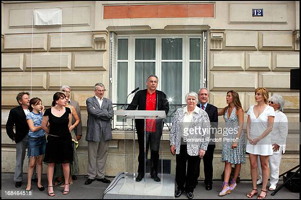 Roman Polanski daughter Morgane Marie Amelie Seigner Marcel Bezonnet Francis Perrin Francoise Seigner Jean Tiberi Mathilde Seigner Emmanuelle Seigner...