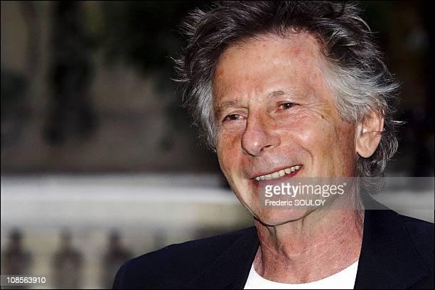 Roman Polanski in Paris France on April 26th 2004
