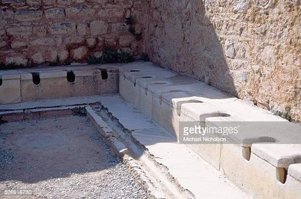 Roman Public Latrines in Ephesus Turkey