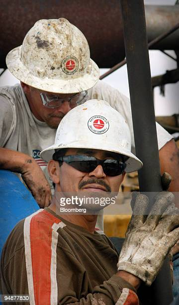 Roman Quevedo is a wildcatter a person who works at setting up oil drilling equipment He is employed by PatersonUTI Drilling Company which is working...