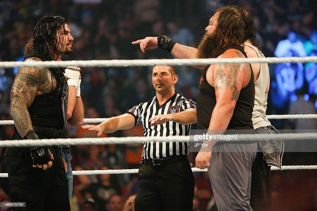 WWE SummerSlam 2015 : News Photo