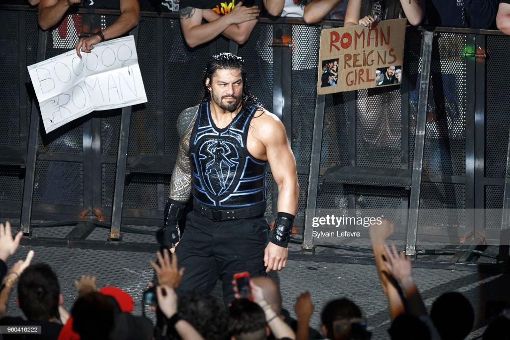 WWE Live Paris At  Accorhotels Arena In Paris : News Photo