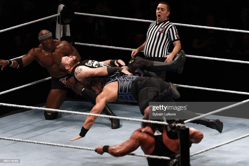 WWE Live Paris At  Accorhotels Arena In Paris : Fotografía de noticias
