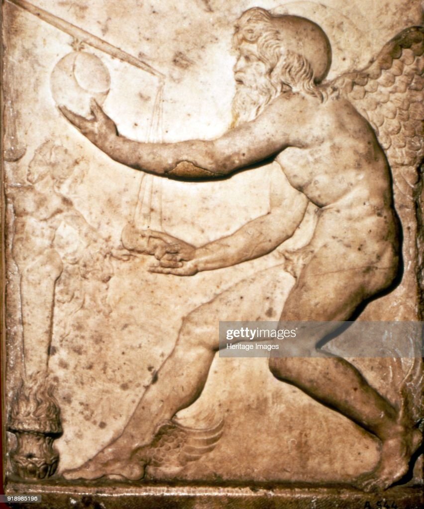 Roman Relief of Saturn  Saturn is a god in ancient Roman