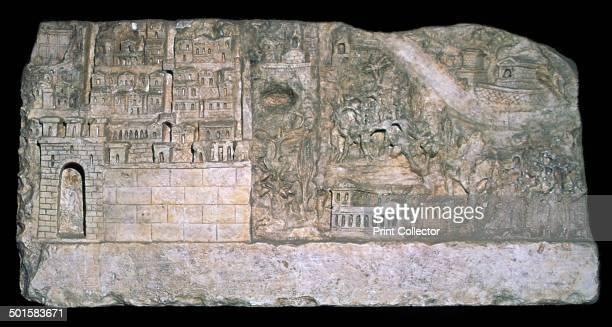 Roman relief of the city of Avezzano