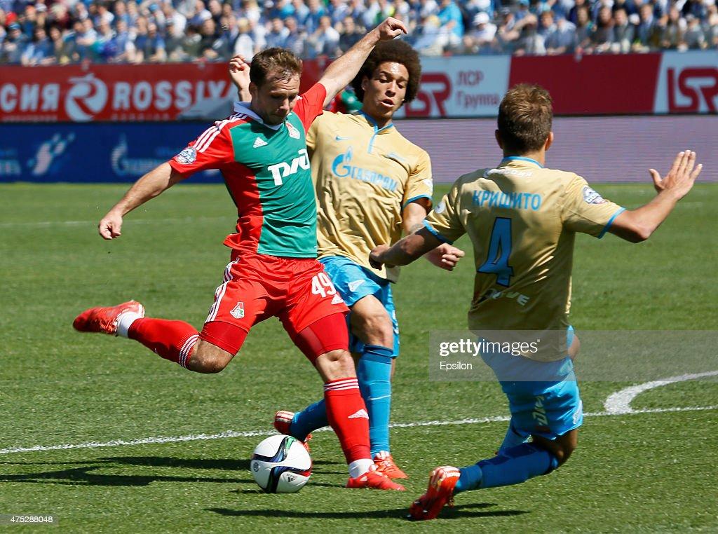 FC Zenit St Petersburg v FC Lokomotiv Moscow - Russian Premier League : News Photo