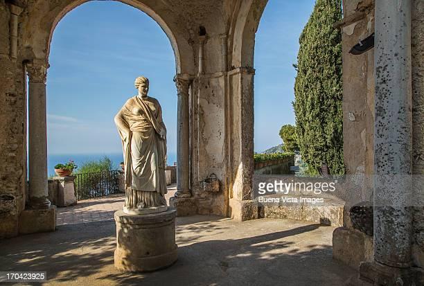 Roman Statue in Villa Cimbrone. Ravello