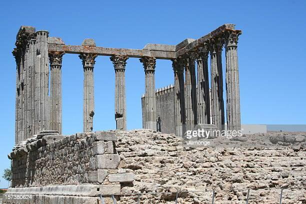 Römischer Tempel in Évora, Portugal