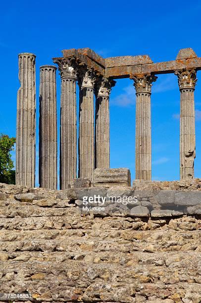 Roman temple of Diana, evora. Alentejo, Portugal