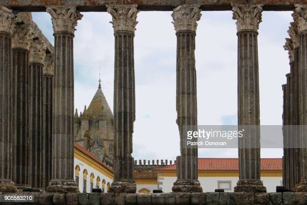 Roman Temple of Evora, Portugal