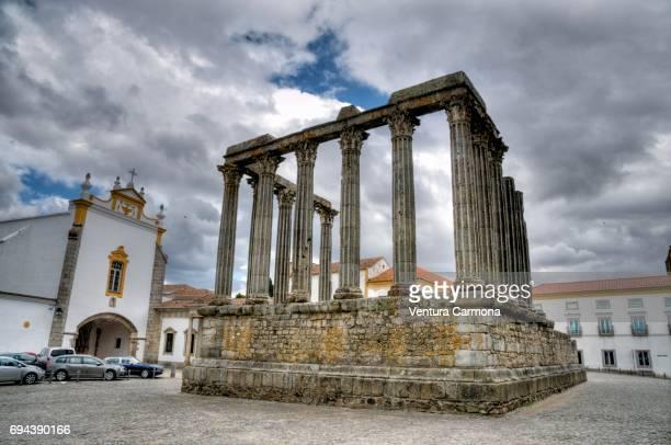 Roman Temple of Évora - Portugal