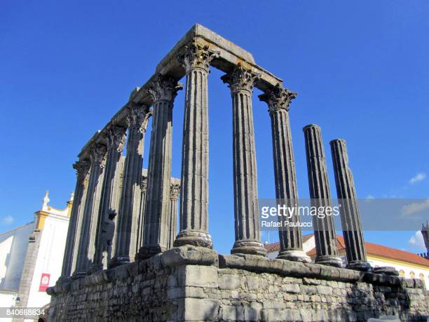 Roman Temple of Évora, Portugal