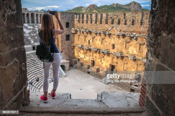 Roman Theater, Aspendos, Antalya, Turkey
