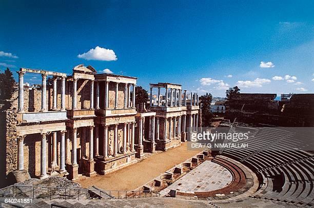 Roman theatre 1615 BC Merida Extremadura Spain Roman civilisation 1st century BC