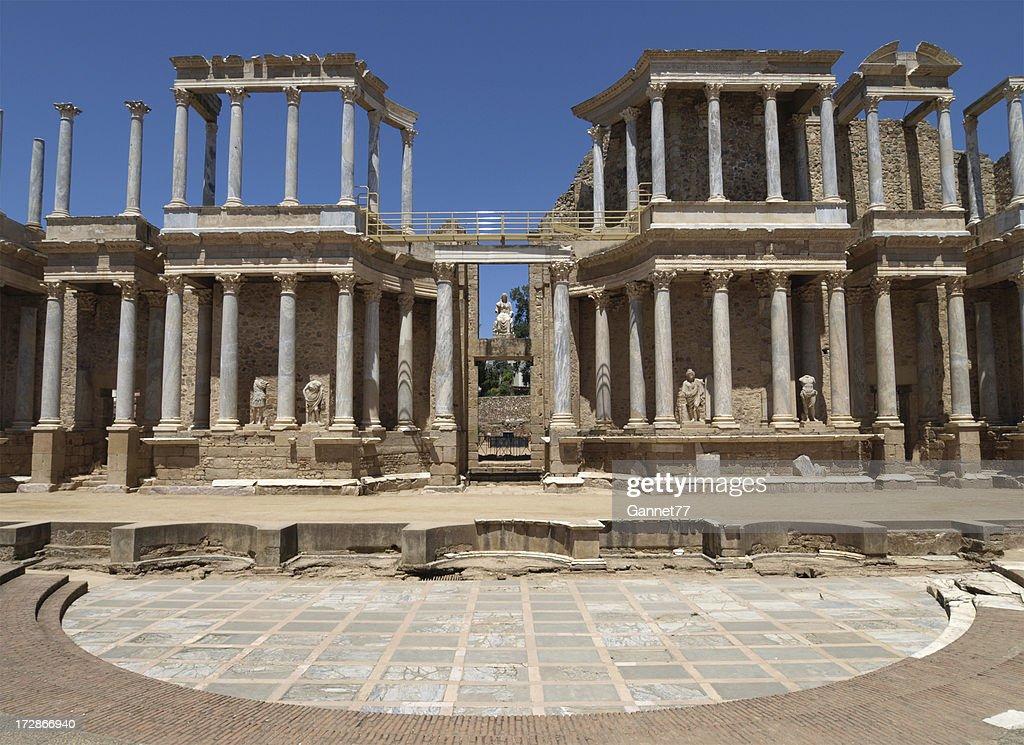 Roman Theatre at Merida, Spain : Stock Photo