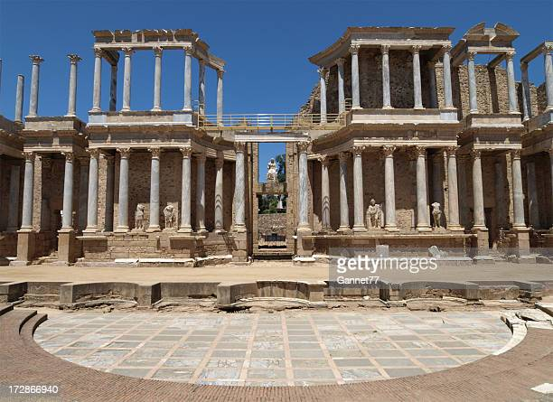 Roman Theatre at Merida, Spain