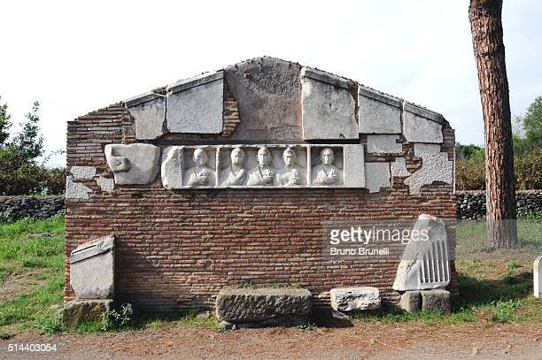 Roman tomb along the Appian Way