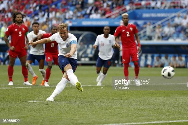 Roman Torres of Panama Jesse Lingard of England Armando Cooper of Panama Harry Kane of England Raheem Sterling of England Michael Murillo of Panama...