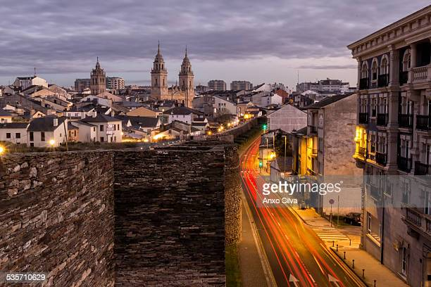 Roman Walls of Lugo, Galicia, Spain