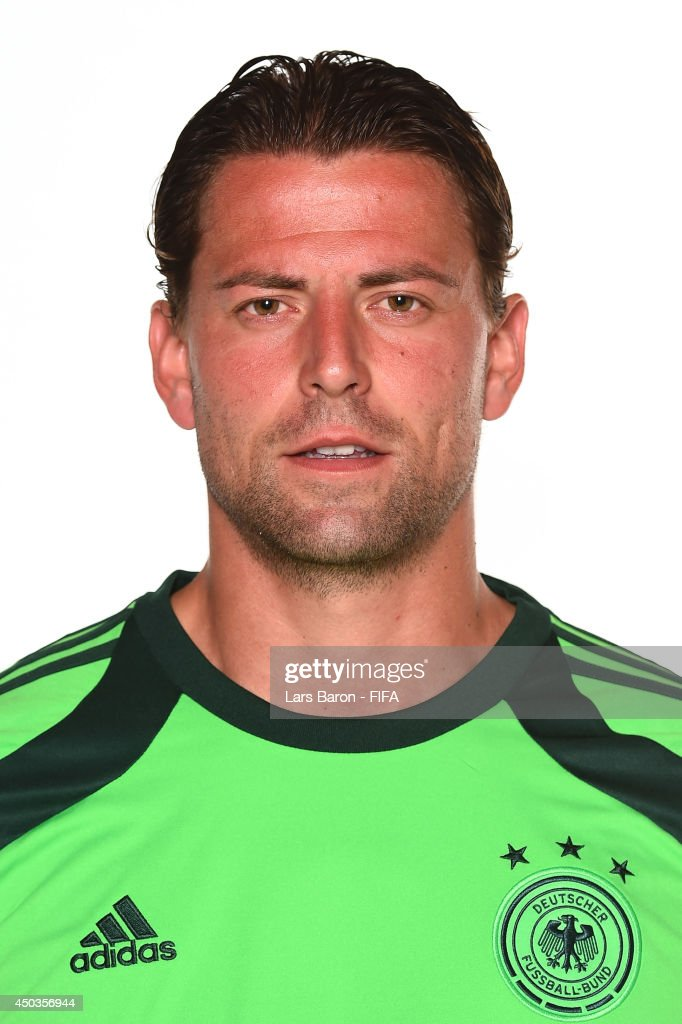 Roman Weidenfeller of Germany poses during the official FIFA World Cup 2014 portrait session on June 8, 2014 in Salvador, Brazil.