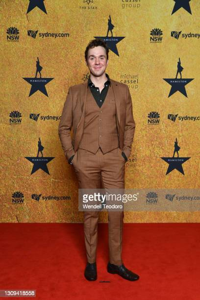 Roman Witt attends the Australian premiere of Hamilton at Lyric Theatre, Star City on March 27, 2021 in Sydney, Australia.