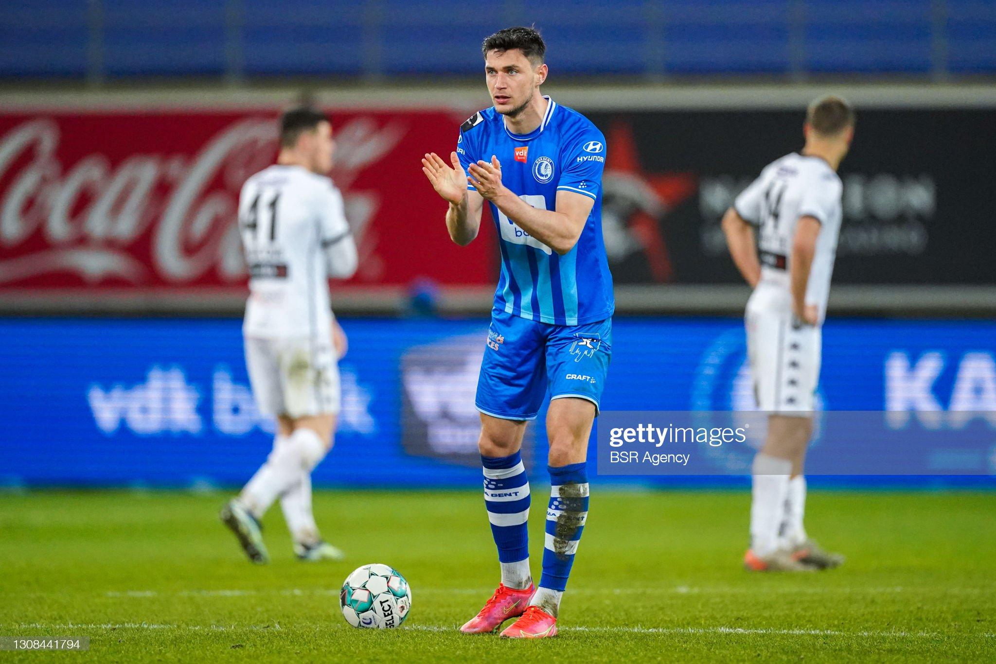 KAA Gent v Cercle Brugge - Jupiler Pro League : ニュース写真