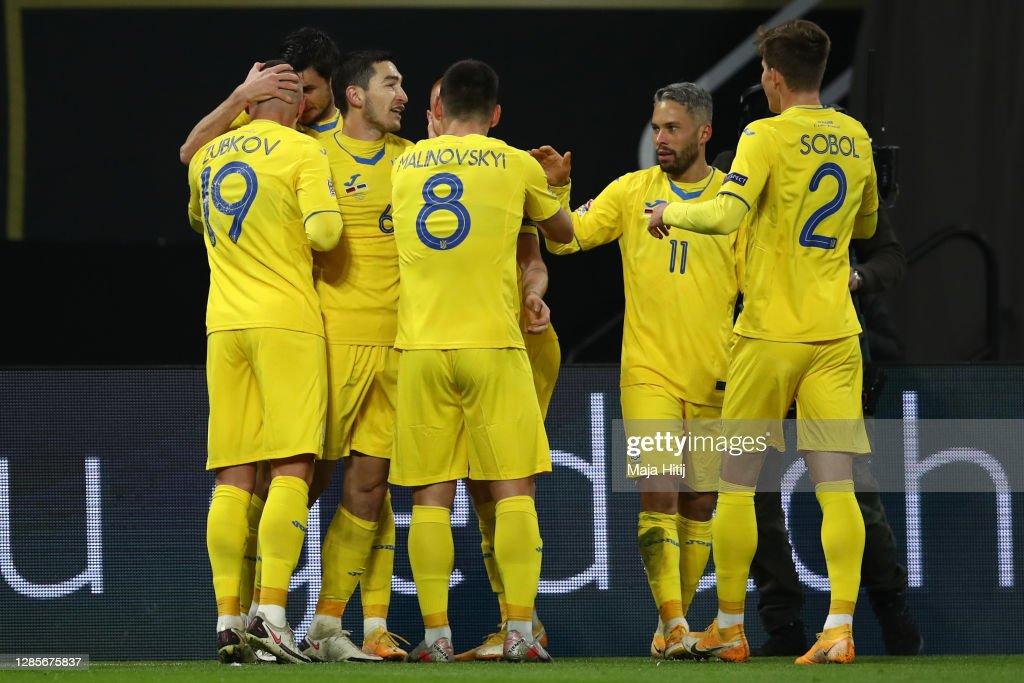 Germany v Ukraine - UEFA Nations League : Fotografia de notícias