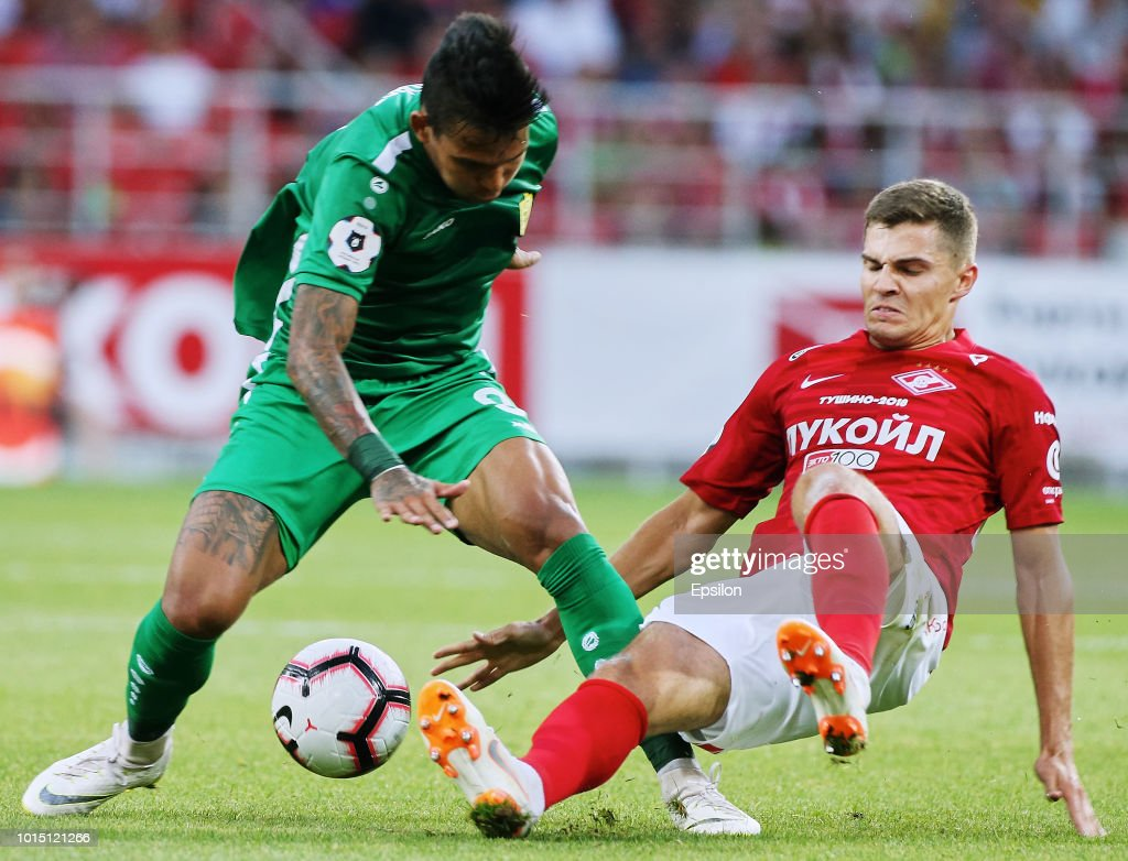 FC Spartak Moscow vs FC Anji Makhachkala - Russian Premier League : News Photo