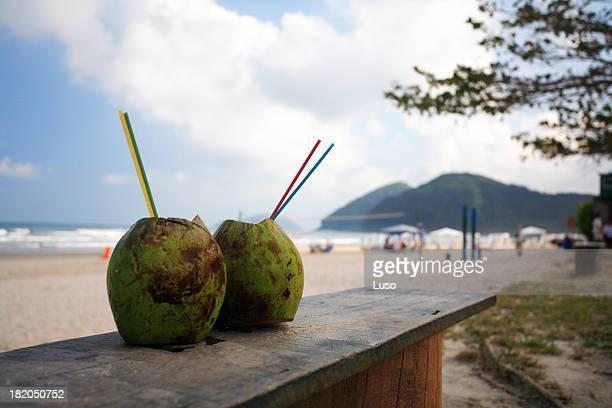 Romance & de l'eau de noix de coco
