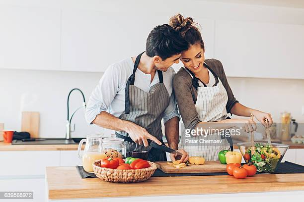 Romance and cooking