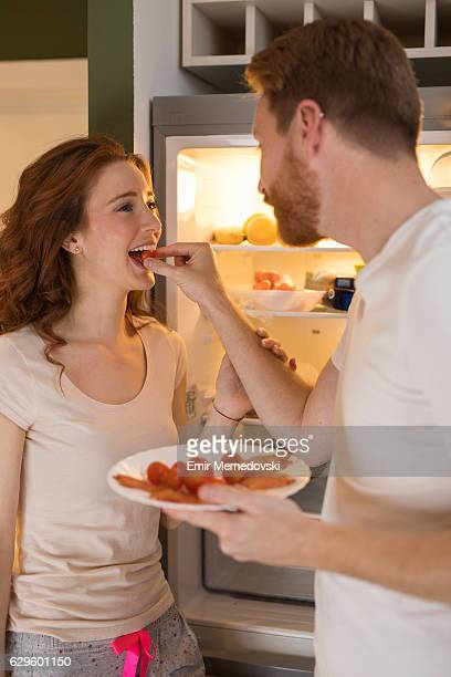 romance for dinner - couples making passionate love stock pictures, royalty-free photos & images