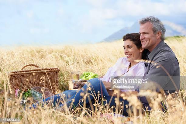 Romance in the fields
