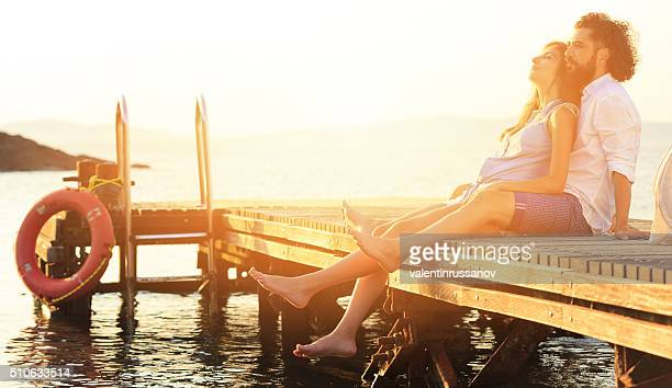 Romantik am Dock