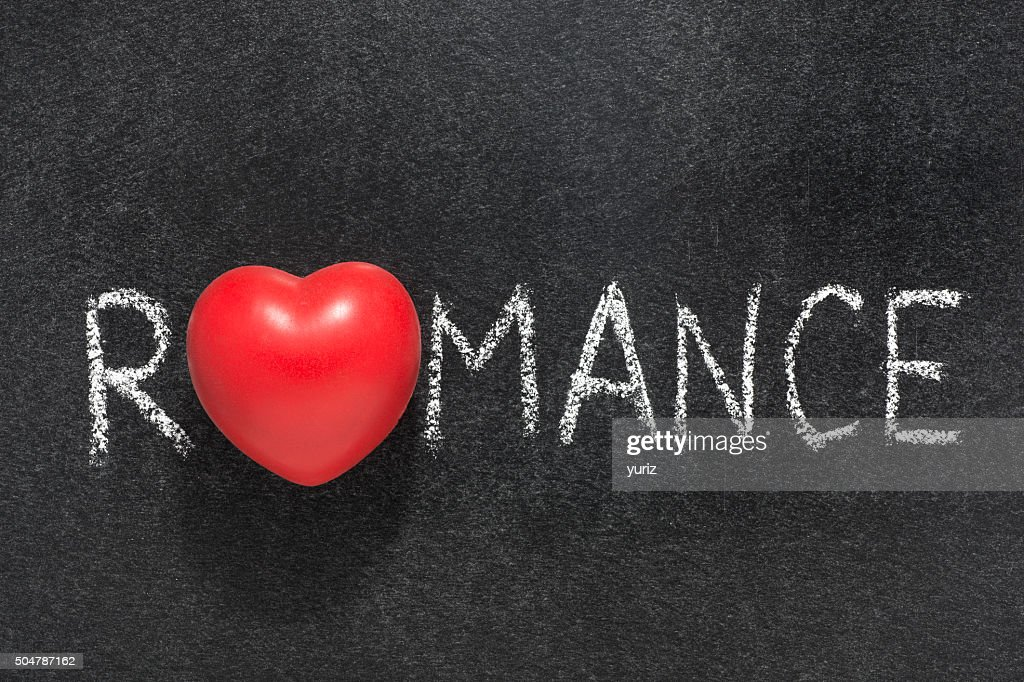 romance word heart stock photo getty images