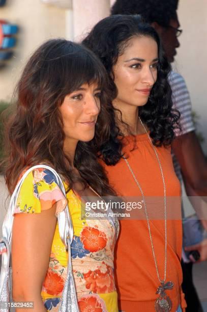 Romane Bohringer and Rachida Brakni during 31st American Film Festival of Deauville 'Keane' Premiere at CID Deauville in Deauville France