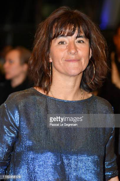 Romane Bohringer attends the screening of Diego Maradona during the 72nd annual Cannes Film Festival on May 19 2019 in Cannes France