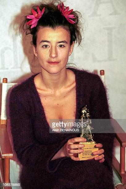 Romane Rohringer in BagneresdeLuchon France on February 01 2000