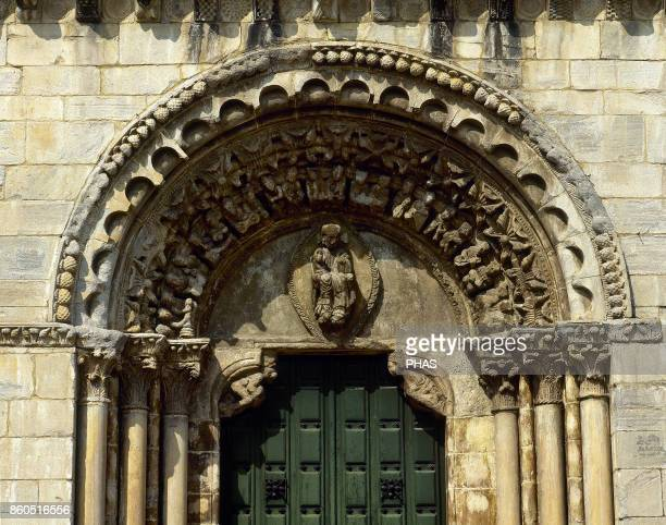 Romanesque architecture Way of St James Churchfortress of St Nicholas Built between 12th and 13th centuries it belonged to the Order of St John of...