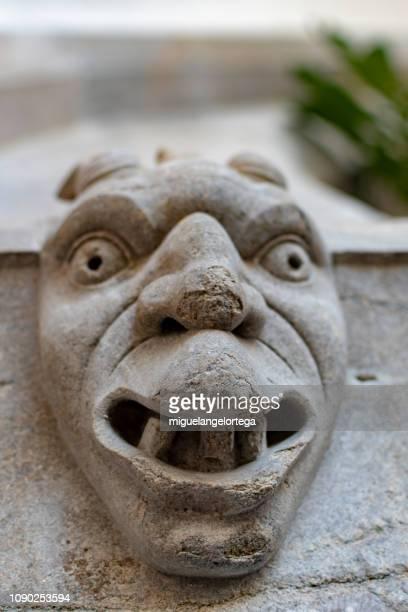 Romanesque mask